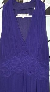 Sleeveless Purple Cocktail Dress